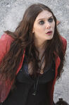 Scarlet Witch On Set