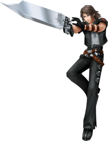 File:Leon(Squall)KHCostume in Dissidia.png