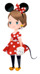 Minnie Mouse Costume Kingdom Hearts χ