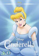 Cinderella UK DVD 2014 Limited Edition slip cover