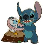 Disney Shopping.com - Aloha Stitch Set of 6 Pins (Stitch & Duckling Only)