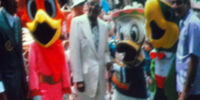 Panchito Pistoles and José Carioca Costumes Through the Years