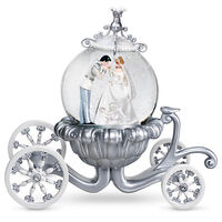 Cinderella Wedding Snowglobe