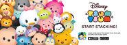 Disney Tsum Tsum Start Stacking Promotional Image