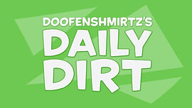 Doofenshmirtz's Daily Dirt logo