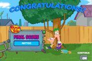 Final score - Robot Attack