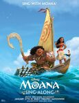 Moana Sing a Long Poster