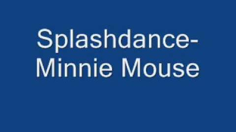 Splashdance-Minnie Mouse