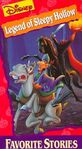 Legend of Sleepy Hollow VHS cover 2