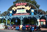 Mickey's Toontown Fair Station Magic Kingdom