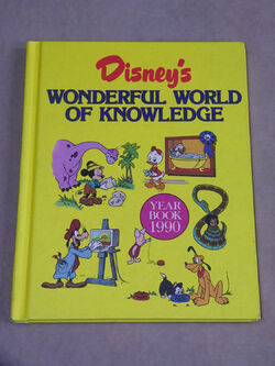 Disneys wonderful world of knowledge year book 1990