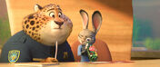 Clawhauser and Judy Investigation