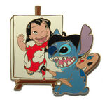Disney Auctions (P.I.N.S.) - Artist Stitch with Lilo