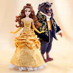 Disney Fairytale Designer Collection - Belle and the Beast Dolls
