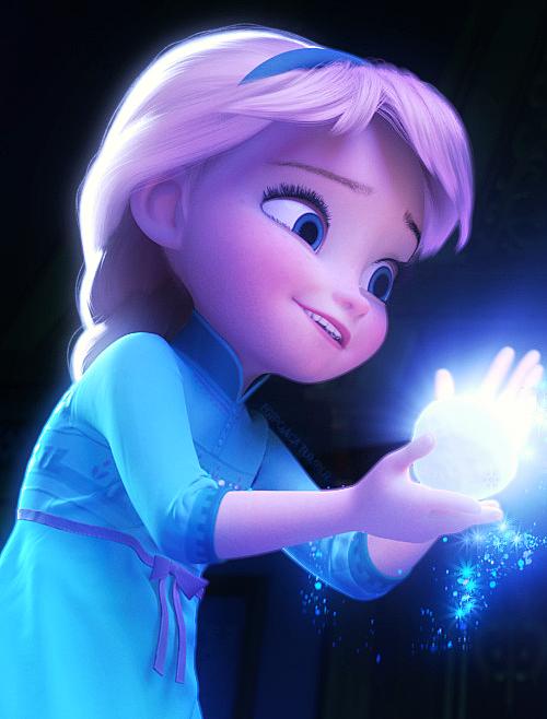 Frozen Little Anna And Elsa