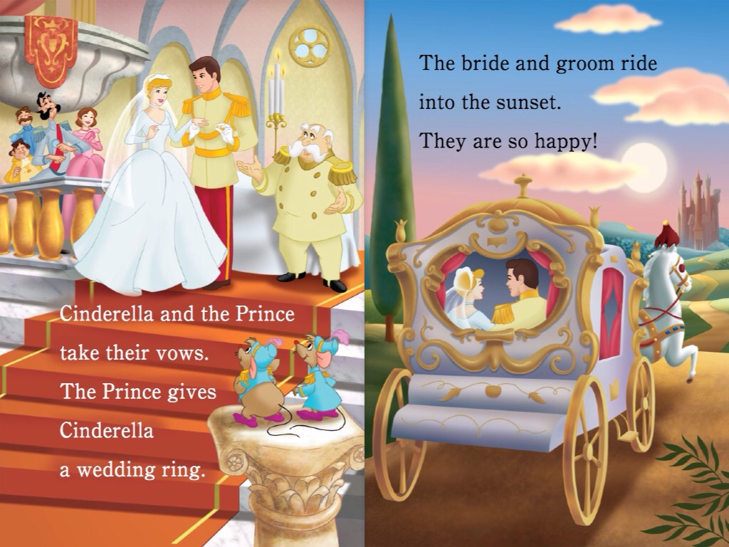 Image Disney Princess Beautiful Brides Cinderella 2