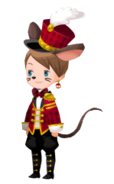 Timothy Q. Mouse Costume Kingdom Hearts χ