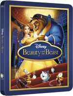 Beauty and the Beast Steelbook
