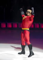 Mr Incredible Disney on Ice