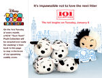 One Hundred and One Dalmatians Tsum Tsum Tuesday
