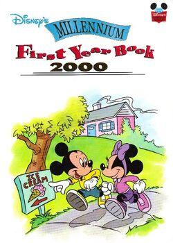 Disneys millennium first year book 2000