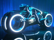 Tron Legacy, light cycle, Comic-Con 2009