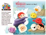The Little Mermaid Tsum Tsum Tuesday