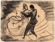 Cinderella - Dancing on a Cloud Deleted Storyboard - 17