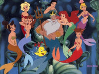 King-Triton-With-Daughters-1024x768-Wallpaper-ToonsWallpapers.com-