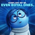 Royal baby sadness