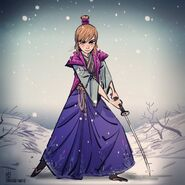 Samurai Anna by Paul Briggs