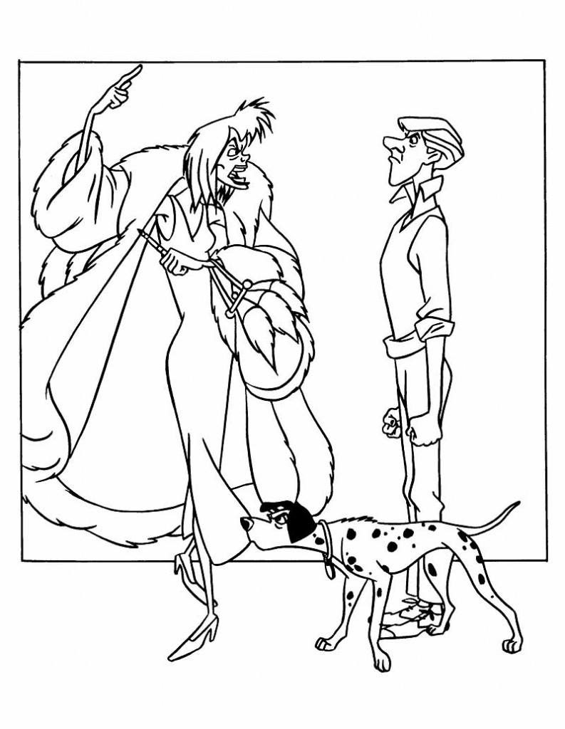 Image 101 dalmatians colouring pictures disney for 101 dalmation coloring pages