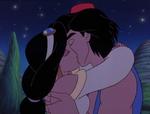 Aladdin and Jasmine Kiss (1) - The Return of Jafar