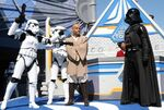 Darth Vader at Star Toours