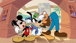Mickey, Donald and Goofy