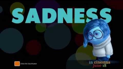 "Inside Out - Australian TV Spot ""Meet Sadness"""