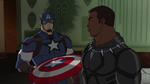Captain America and Black Panther AUR 06