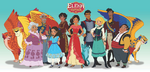 Elena of Avalor 2D cast concept