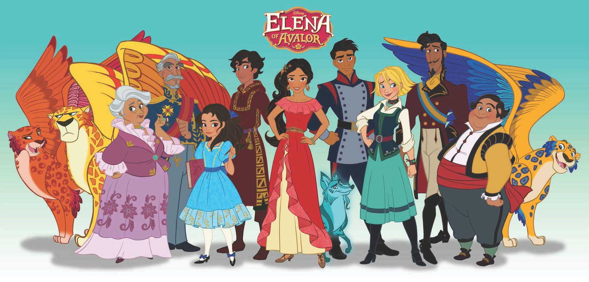 Výsledek obrázku pro elena z avaloru characters