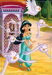 Jasmine and the birds