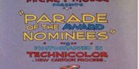 Parade of the Award Nominees