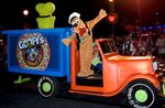 Pluto on candy truck