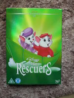 The Rescuers UK DVD 2014 alternative Limited Edition slip cover