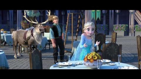 Frozen Fever - New Sneak Peek (2015) Disney Animation Short