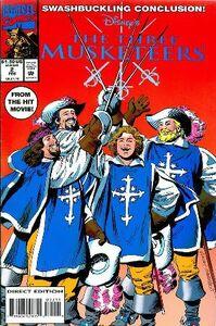 Three Musketeers Comic Vol. 2