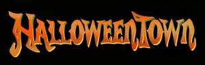 Disney's Halloweentown - Official Logo with Black Background