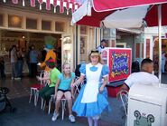 Musical Chairs with Alice and Hatter