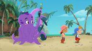 Purple Octopus IzzyCubby-Jake's Home Run!