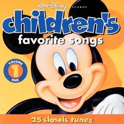 Disney children's favorite songs volume 1