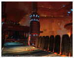 Droid Factory Disney INFINITY Concept Art